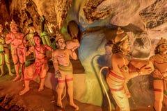 Ramayana grotta på batugrottor i Kuala Lumpur, Malaysia, Asien Royaltyfria Foton