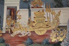 Ramayana Hindu Epic Mural Royalty Free Stock Photo