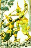Ramayana litteratur Royaltyfri Bild