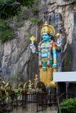 Kuala Lumpur city, Malaysia. Ramayana Rama statue near entrance to Batu Caves in Kuala Lumpur, Malaysia Royalty Free Stock Photography