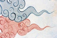Ramayana rysunek na ścianie Zdjęcie Stock