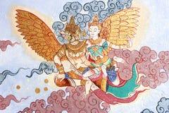 Ramayana rysunek na ścianie Obrazy Royalty Free