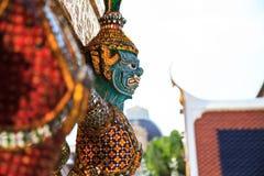 Ramayana-Skulptur Stockbild