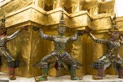 Ramayana-Skulptur Stockfotografie