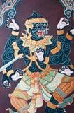 Ramayana Thai Art Fairy Royalty Free Stock Photo