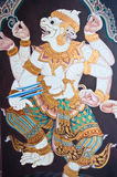 Ramayana Thai Art Fairy Royalty Free Stock Image