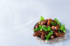 Ramazan kareemferie för Ramadan Traditionella arabiska iftar data Royaltyfri Fotografi