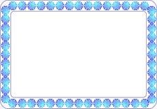 Rambakgrundsmodell för textfoto Royaltyfria Bilder