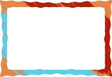 Rambakgrundsmodell för textfoto Arkivbild