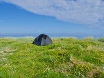Ramberg beach, Lofoten islands stock photos
