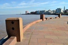 Rambla του Μοντεβίδεο Στοκ Εικόνες