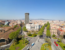 Rambla. Barcelona, Spain Royalty Free Stock Images