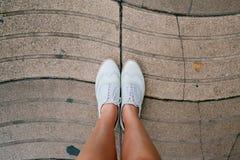 Rambla e pés Fotos de Stock Royalty Free
