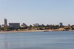 Rambla in Montevideo Uruguay Stock Image