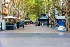 Rambla street, Barcelona Royalty Free Stock Photo