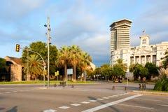 Rambla street, Barcelona Stock Images