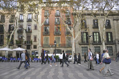 The Ramblas Stock Photos