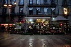 Ramblas Barcelona Imagen de archivo libre de regalías