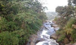 Ramboda cade lo Sri Lanka Fotografia Stock