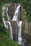 Ramboda falls, Ceylon Stock Photos