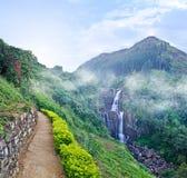 Ramboda falls Royalty Free Stock Images
