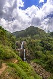 Ramboda falls, Sri Lanka Royalty Free Stock Photos