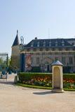 Rambouillet Castle entrance Stock Image