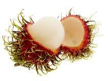 ramboutan exotique de fruit photographie stock libre de droits