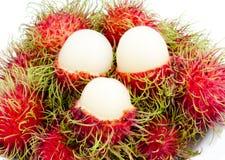 Ramboutan thaï de fruit Photo libre de droits