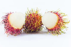 Ramboutans, fruit thaïlandais délicieux Photos stock