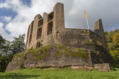 Ramburg castle in Rhineland-Palatinate, Germany Stock Photography