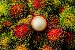 Rambutan imagem de stock