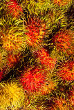 Rambutan. Fresh rambutan from Thailand for your good health Stock Photo
