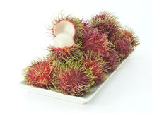 Rambutan Stockfotos