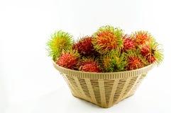 Rambutan stockfoto