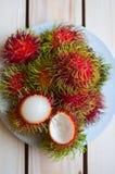 Rambutan Στοκ Φωτογραφίες