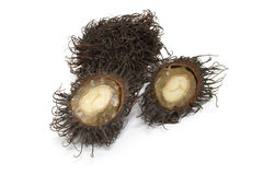 Rambutan. A tropic fruit called Rambutan Royalty Free Stock Photography