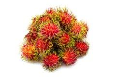 Rambutan asiático da fruta Foto de Stock Royalty Free