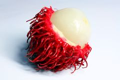 Rambutan close-up Stock Image