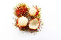 Rambutan do fruto de Ásia Foto de Stock Royalty Free