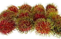 Rambutan, exotic fruit Royalty Free Stock Image