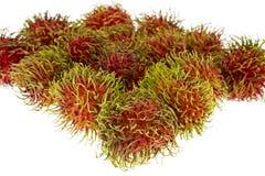 Rambutan, exotisch fruit royalty-vrije stock fotografie