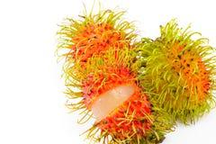 Rambutan för tropisk frukt Royaltyfria Foton