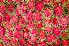Rambutan fresco foto de archivo
