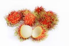 Rambutan fresco Fotos de Stock
