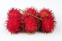 Rambutan-Frucht Lizenzfreies Stockfoto