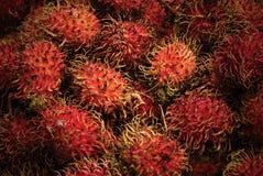 Rambutan Fruit. A Bunch of Rambutan Fruit Royalty Free Stock Photography