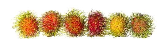 Rambutan. Fruit in Asia A sweet taste Royalty Free Stock Photos
