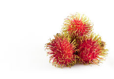 Rambutan is fruit southern asian flavor sweet Royalty Free Stock Photography