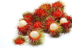 Rambutan fruit ,thai fruit favorite. Royalty Free Stock Images